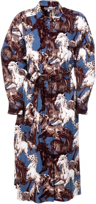 Kenzo Horse All-over Print Dress