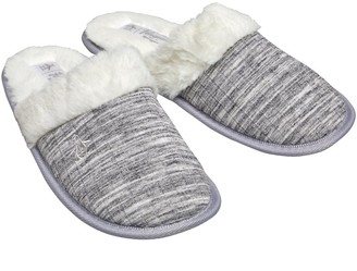 Original Penguin Womens Slippers Space Dye Grey