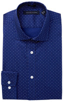Tommy Hilfiger Dot Print Trim Fit Dress Shirt