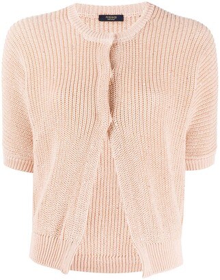 Peserico Short-Sleeved Cardigan
