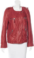 Etoile Isabel Marant Leather Moto Jacket