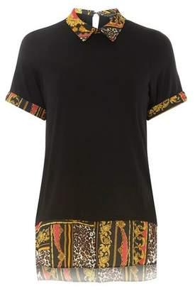 Dorothy Perkins Womens Black Chain Short Sleeve 2