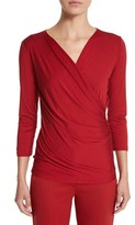 Max Mara Women's 'Caprice' Surplice Top