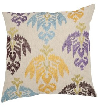 "Safavieh Dina Throw Pillow Size: 18"" H x 18"" W, Color: Multi 2"
