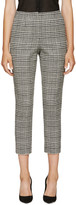 Lanvin Black & White Houndstooth Trousers