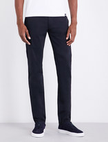 Armani Jeans Regular-fit tapered stretch-cotton chinos