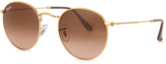 Ray-Ban Round Metal bronze sunglasses