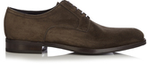 Salvatore Ferragamo Grand suede and leather derby shoes