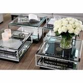 Eichholtz Tortona 4 Piece Coffee Table Set Color: Black