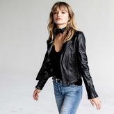 DSTLD Leather Moto Jacket