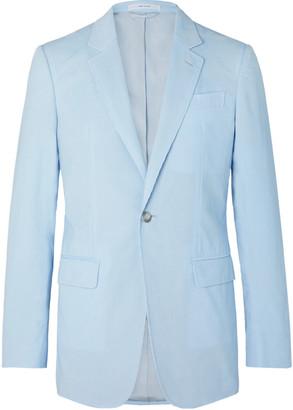 Gabriela Hearst Damien Slim-Fit Cotton-Corduroy Suit Jacket