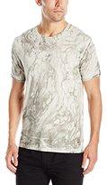 GUESS Men's Marble T-Shirt