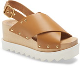 Stella McCartney Cross Strap Platform Sandal