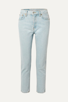 RE/DONE 50s Cigarette High-rise Straight-leg Jeans