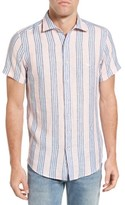 Rodd & Gunn Men's Northburn Stripe Linen Sport Shirt