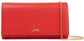Christian Louboutin Boudoir Textured-leather Shoulder Bag - one size