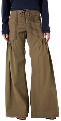 XCVI Willow Wide Leg Stretch Poplin Pants