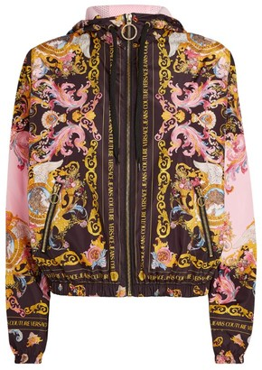 Versace Jeans Couture Printed Windbreaker Jacket