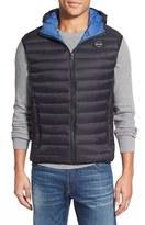 Schott NYC Men's Down Hooded Vest