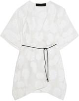 Roland Mouret Keswick fil coupé cotton-blend voile kaftan