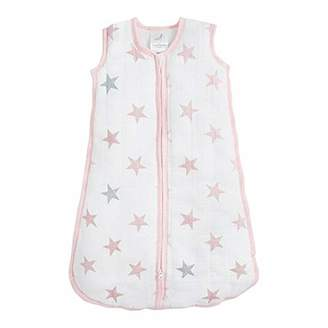 Aden Anais Aden by aden + anais Sleeping Bag, 100% Cotton Muslin Shell and 100% Polyester Fill, 2.5 TOG, Doll, 6-12 Months