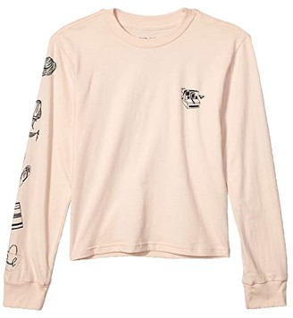 Roxy Kids Travel Days Long Sleeve (Big Kids) (Evening Sand) Girl's Clothing