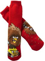 Star Wars Angry birds fighters slipper socks - boys 8-20