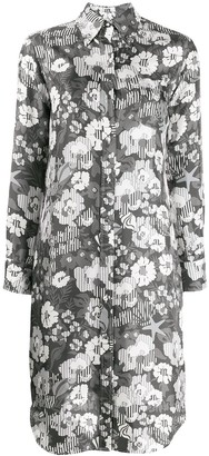 Thom Browne Floral Print Dress