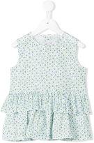 Il Gufo floral print top - kids - Cotton/Spandex/Elastane - 6 yrs