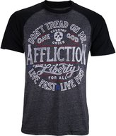 Affliction Liberty For All Football Shirt