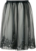 Loyd/Ford - embellished tulle layer skirt - women - Silk/Sequin - 4