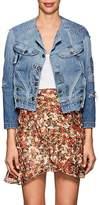 Greg Lauren Women's Patchwork Denim Trucker Jacket