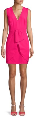 BCBGMAXAZRIA V-Neck Sheath Dress