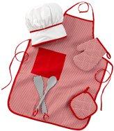 Kid Kraft Tasty Treats Chef Accessory Set - Red