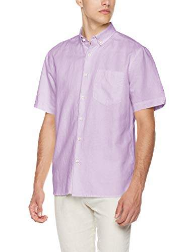 5b15af45945b ... mens purple linen shirt style ...