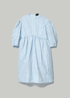 Simone Rocha Women's Smock Dress in Blue Size 10