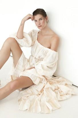 Aje Chalet Midi Dress