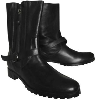 Jean Louis Scherrer Jean-louis Scherrer Black Leather Boots