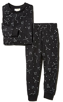 Bloomie's Unisex Constellation Print Tee & Constellation Print Pants Pajama Set, Baby - 100% Exclusive