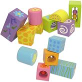 Boikido 12-Piece Wooden Musical Blocks Set