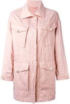 Ermanno Scervino multi-pockets zipped coat - women - Silk/Cotton/Acetate/Metallic Fibre - 36