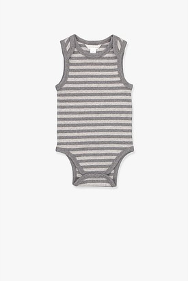 Country Road Unisex Stripe Rib Bodysuit