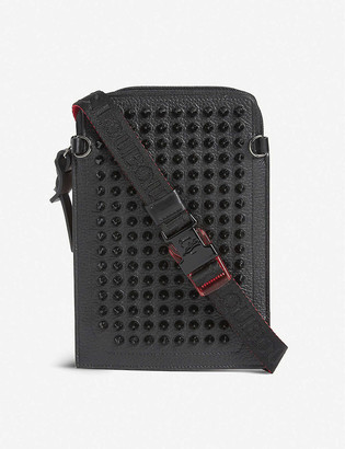 Christian Louboutin Loubilab calfskin-leather phone case
