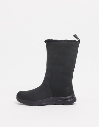Timberland mabel town pull-on boots in black