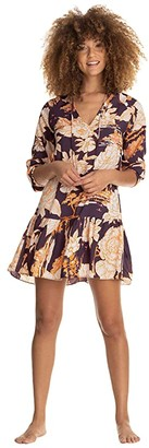 Maaji Wonderland Dreams Tunic Cover-Up (Brown) Women's Swimwear