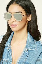 Forever 21 Mirrored Aviator Sunglasses