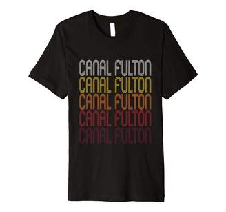Fulton Ann Arbor T Shirt Co Canal OH | Vintage Style Ohio T-shirt