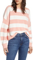 French Connection Mozart Stripe Boatneck Sweater