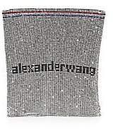 Alexander Wang Women's Wangloc Rhinestone Gallon Pouch