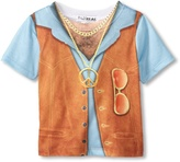 Faux Real Toddler 1970s Hairy Chest Costume T-shirt